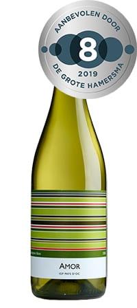 biologische witte wijn