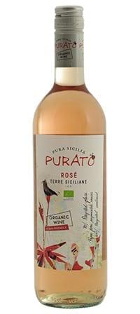biologische rosé uit Sicilië